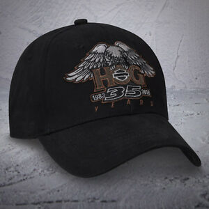 Harley-Davidson-35th-Anniversery-HOG-Ball-cap-amp-Patch-NEW-NICE-NWT-NEW