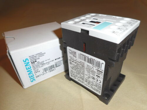 SIEMENS 3RT1017-1BB41 3-pole contactor NIB