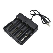4 Slots US Plug Battery Batteries Charger for 3.7 V 18650 Rechargeable Li-ion