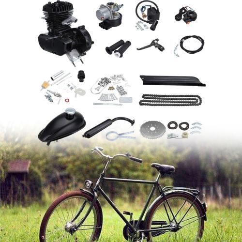 2-Takt 80cc 45km/h Fahrrad Motorisierte Benzin Hilfsmotor Cycle Hilfsmotor Bike Elektrofahrräder