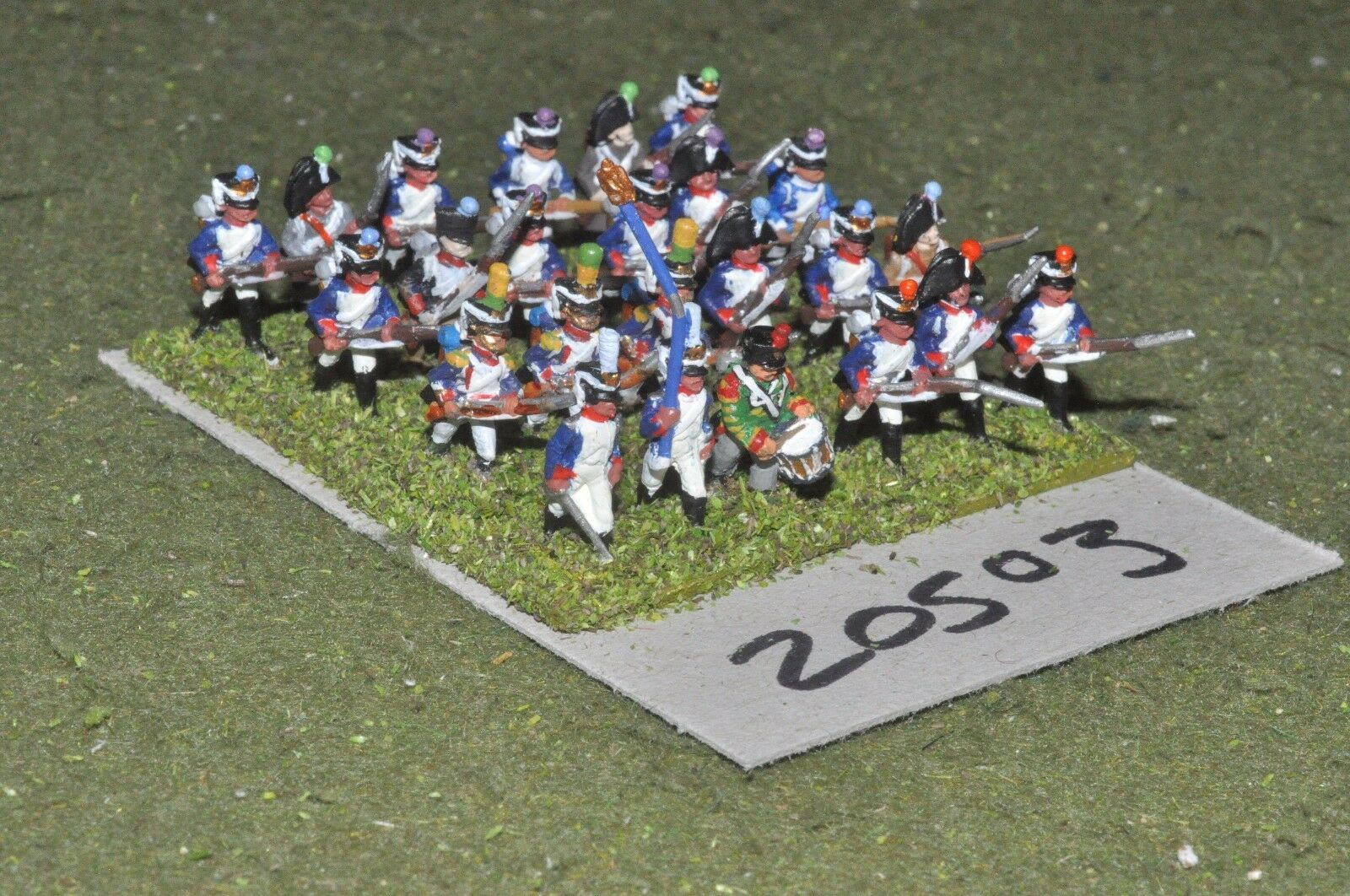 15mm napoleonic   french - infantry 24 figs - inf (20503)
