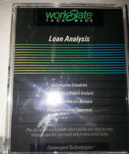 workslate loan analysis software Sealed Super rare and Hard to find.....(C3B3)..