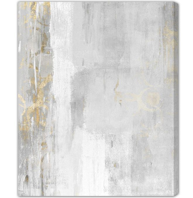 Oliver Gal Artana Abstract Elegance Art Print Wrapped on Canvas 77cm H x 61cm W