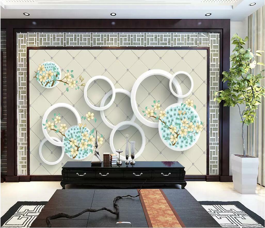 3D Circular Pattern I2982 Wallpaper Mural Sefl-adhesive Removable Sticker Wendy