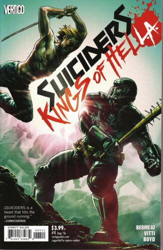 2016 Lee Bermejo /& Alessandro Vitti Kings of HelL.A No.4 Suiciders