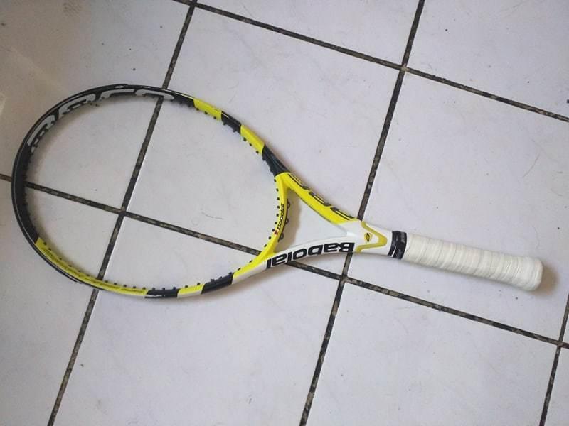 BABOLAT AeroPro Drive Plus 27.5 Cortex 100 Head 4 1 2 grip Nadal Raquette de Tennis