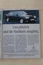 Mercedes 190 E W201 AMG - Anzeige/Werbung