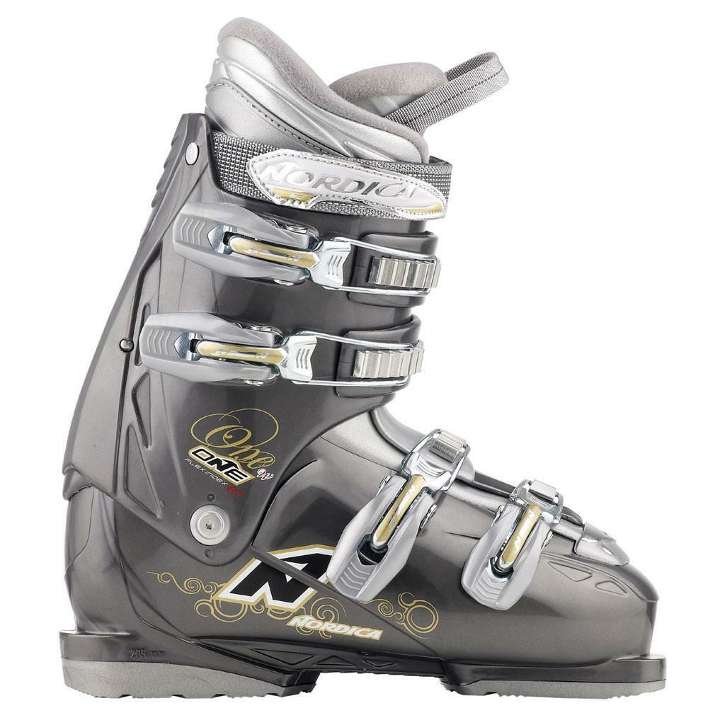 2011 nordica one 40. botas de esquí, DK gris.