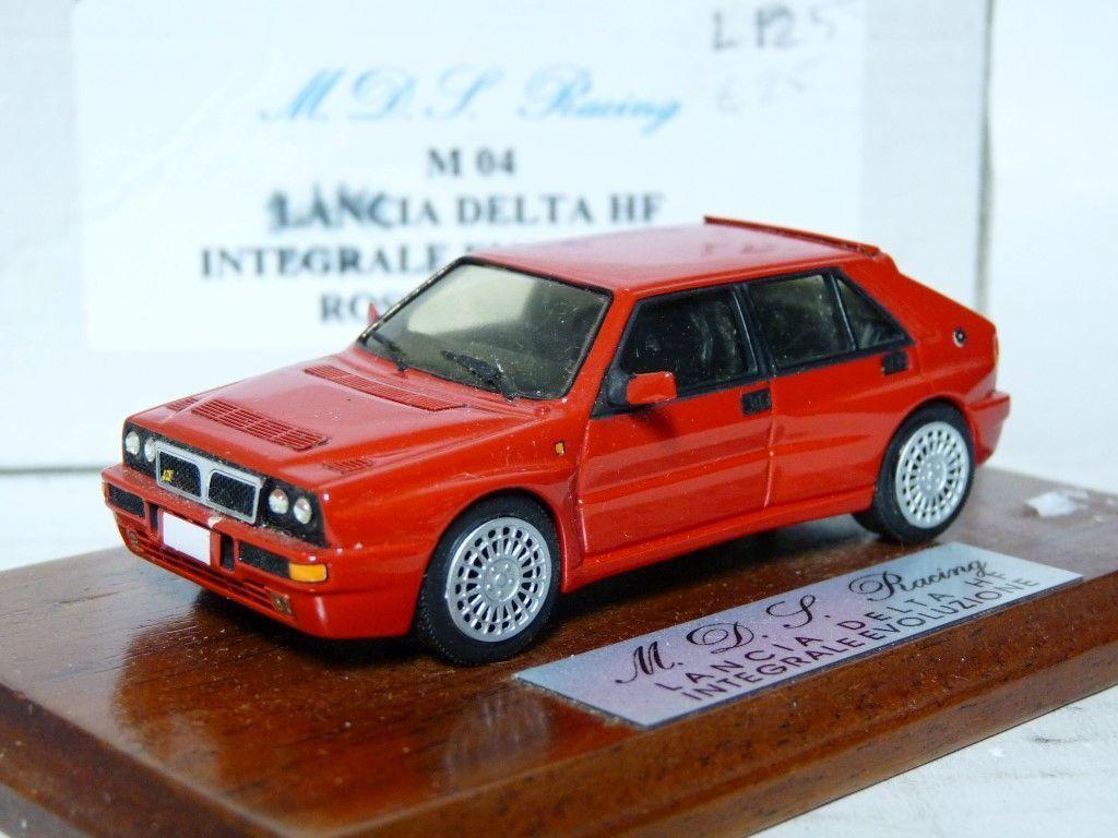 MDS Racing M04 1 43 Lancia Delta Hf Integrale Evoluzione resina modelo hecho a mano