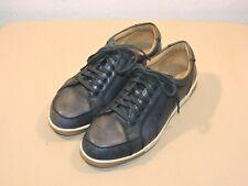 uk availability 26a82 71643 Cole Haan Vartan Sport Oxford Men s Blue Canvas Sneakers Size ...