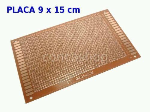 DESDE ESPAÑA PLACA DIY PCB PROTOTIPO EXPERIMENTAL  9 x 15 cm  PROTOBOARD