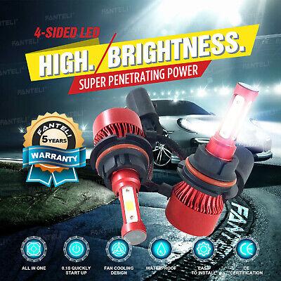 2x 9004 HB1 CREE 1400W 210000LM LED Headlight Hi-Lo Beam Bulbs Replace XENON HID