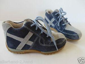 new product 77a6b f2dab Details zu DER KLEINE MUCK # coole SNEAKERS Gr. 25 blau Jungen Schuhe  Turnschuhe Halbschuhe