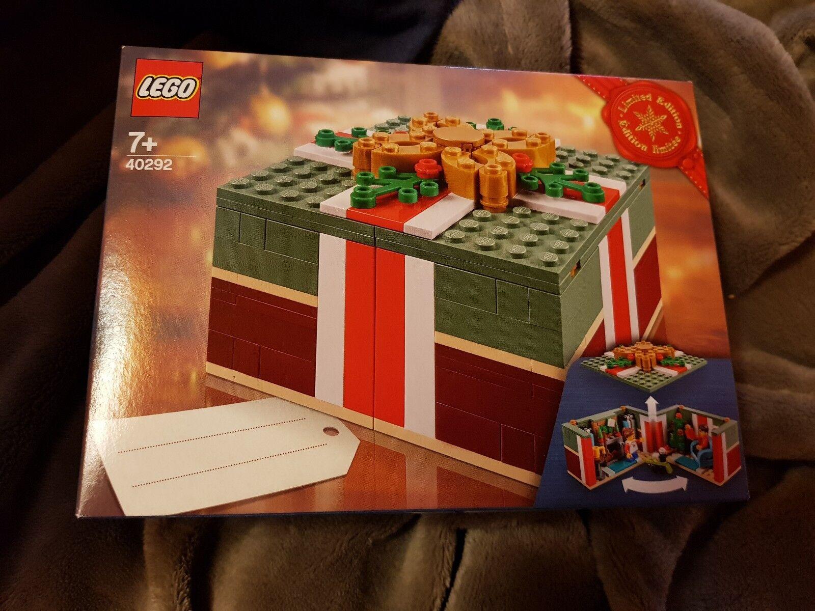 Lego 40292 Weihnachtsgeschenk Limited LE Limited Weihnachtsgeschenk Edition 39c312