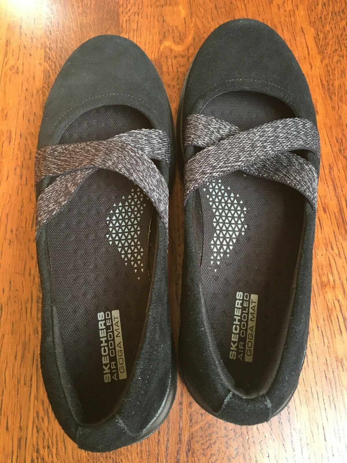 Skechers Womens GoWalk Lite Cherished Slip On Casual shoes Size 8