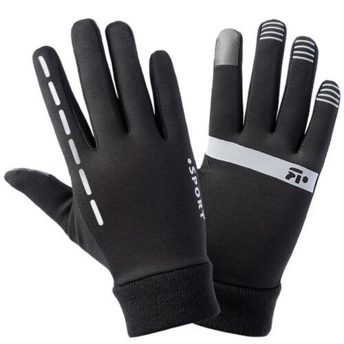 Winddichte Warme Sport-laufende Samt-dünne Handschuhe Früher Winter-Frühling