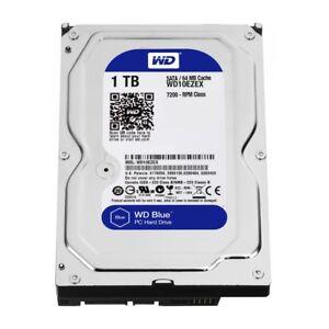 interne-Festplatte-HDD-WD-8-9cm-3-5-034-Zoll-1TB-SATA3-WD10EZEX-7200-64MB-Blue