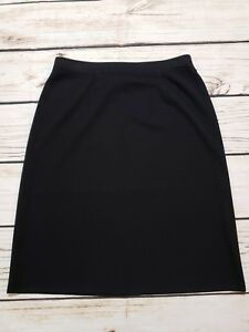 949af3c299 Image is loading EXCLUSIVELY-MISOOK-WOMENS-STRAIGHT-PENCIL-SKIRT-BLACK- ACRYLIC-