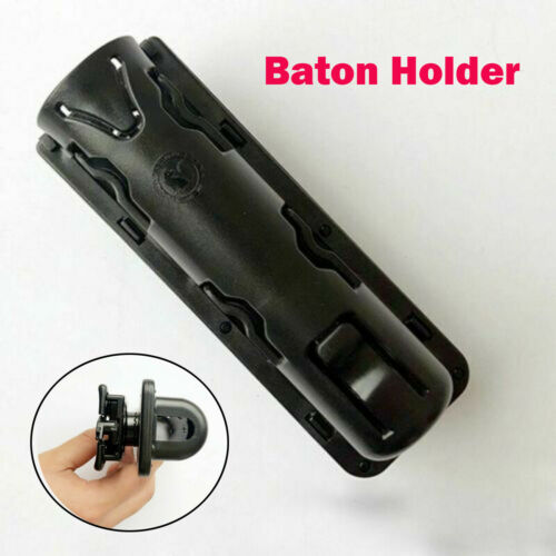 Expandable GAS Baton Holder Baton Case Mount Holster 360° Rotation Swivelling BM
