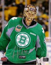 Tuukka Rask Boston Bruins Signed autographed St.Patricks Day jersey  16x20