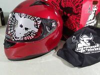 Speed And Strength Helmet Ss1100 Wineberry Xl Extra Large 876874