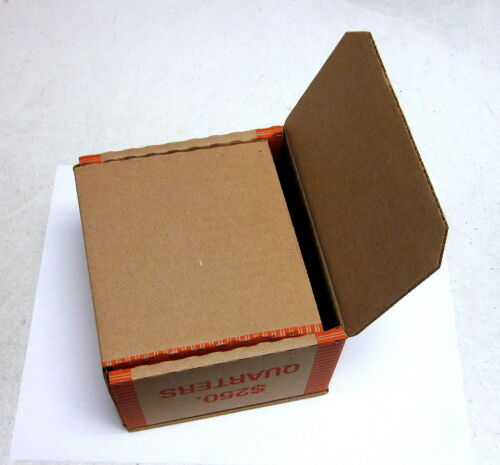 N.F. String Brand New Empty Quarter Coin Roll Boxes