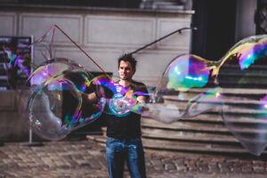 Pompas-de-jabon-Bubble-Brothers-burbujas-gigantes-Polvo-magico-5-15-Litros-HIT
