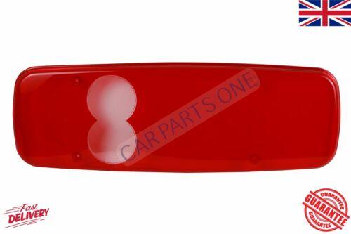 XS3 Posteriore Fanale Posteriore Lente Trasparente Rosso 02YFU2005-001
