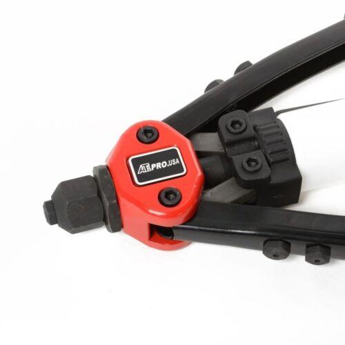 New Heavy Duty Pop Hand Riveter Pistolet One Way industriel 1//8 5//32 3//16 7//32 1//4