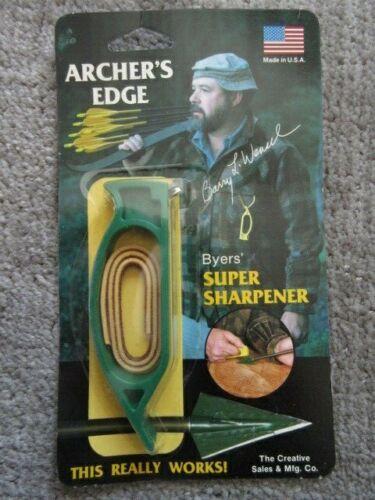 NEW Archers Edge Broadhead Sharpener
