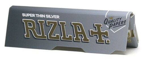 pcs NEW Rizla Silver Rolling Papers RICE PAPER Standard size 2//5//10//20//50//100