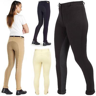 Harry Hall Donna Chester Stick Bum Leggero Stretch Equitazione Jodhpurs- Garanzia Al 100%