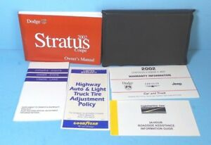2002 dodge stratus se owners manual