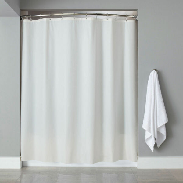 PEVA Shower Curtain Liner W Magnets Solid Color 70 X 72