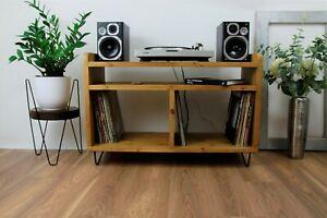 Stand Storage Record Cabinet Tv Unit