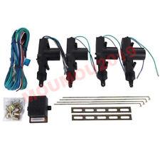 New Universal 4 Door Car Central Power Door Lockunlock Remote Kit Keyless Entry