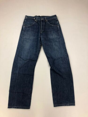 W32 Navy L32 Levi Mens Jeans Levi's Engineered Twisted pInA16q