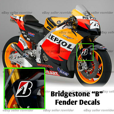 Moto Gp Decals Collection On EBay - Bridgestone custom stickers motorcycle