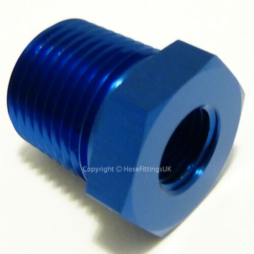 1//2 NPT Male to 3//8 NPT Female REDUCER PIPE BUSHING Hose Fitting Adapter