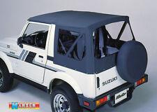 Suzuki Samurai SJ 410 413 Dach schwarz Top Plane Ersatzhülle Ersatzplane Softtop