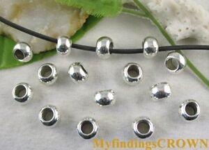 60 Pcs Tibetan Silver cross diamond spacer beads FC59