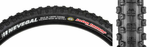 "Kenda John Tomac Nevegal Mountain Bike 26/"" x 2.1 DTC Folding Tire"