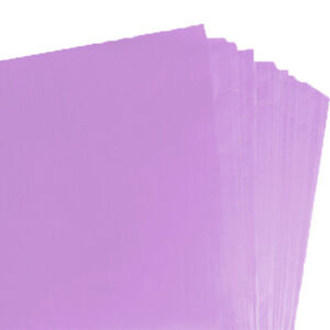 PACK OF 100 PALE PINK QUALITY COLOURED TISSUE PAPER ACID FREE 750mm x 500mm