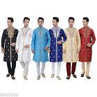Ethnic Indian Designer Kurta Sherwani for Men's 2pc Suit - Worldwide Postage