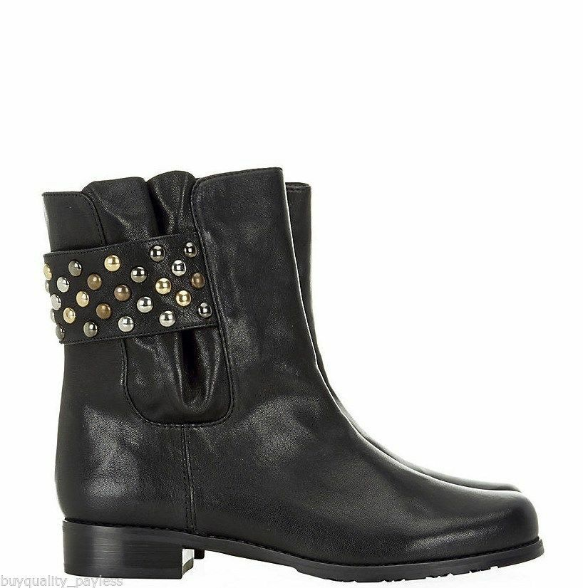 mujeres Cole Haan Bottes Couleur Noir Negro Suede 8.5 Taille 39.5 EU / 8.5 Suede US cd4b94