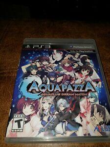Aquapazza-Aqua-Plus-Dream-Match-PS3-Playstation-3-CIB-Atlus-Game