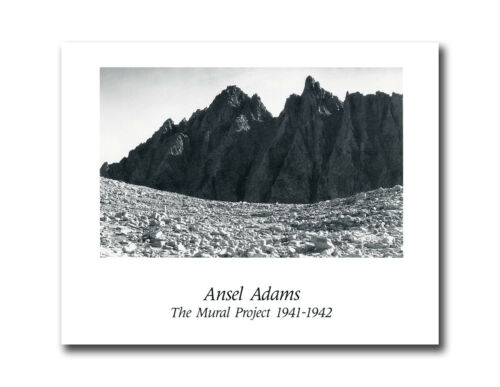 Ansel Adams B//W Photo Mountains #2 Mural Project Wall Picture 8x10 Art Print