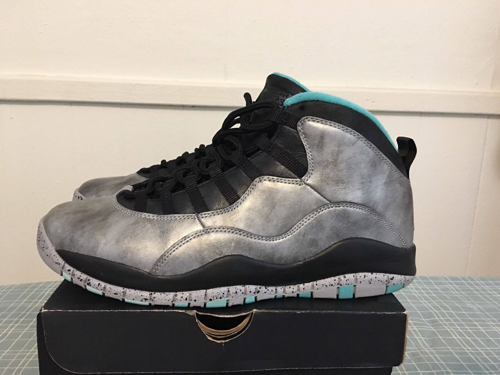 Jordan 10 30th Lady Liberty Size 11 DB AS Stealth