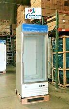 New Commercial 23 Cubic Ft One Glass Door Freezer Merchandiser Nsf Etl Single