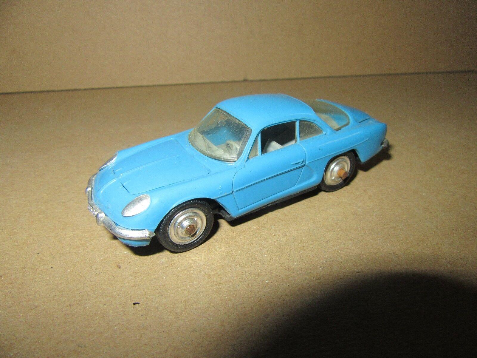 484H Vintage Norev 59 Renault Alpine A110 bluee 1 43